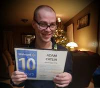 Adam Catlin's story in Pennsylvania has drawn widespread attention. Courtesy of Amber Piermattei