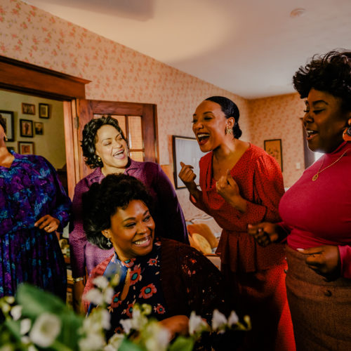 The new Lifetime movie The Clark Sisters: First Ladies of Gospel tells the story of the one of the most important gospel groups of the 20th century. CREDIT: Amanda Matlovich/Courtesy of Lifetime